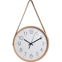 zegar ścienny DANDY, 26x44 cm, kol. beż-MC