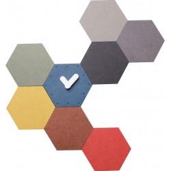 zegar ścienny IGRA, 50x47x4,5 cm, kolorowy-MC