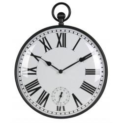zegar ścienny OLDIE kol. CZARNY, 30x33x4cm-MC