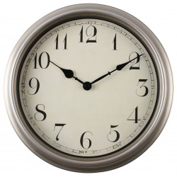 zegar ścienny RAFFLES, średn. 34,5 cm, kol. sre-MC