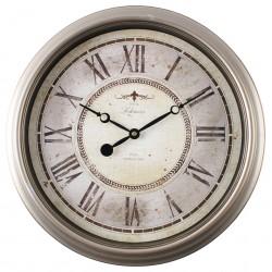 zegar ścienny RITZ, średn. 40,0 cm, kol.srebrny-MC
