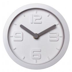 Zegar ścienny SCANDI - śr.15,6cm - biały-MC