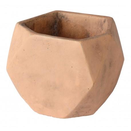 Osłonka ELOF cementowa,12x12x11,5cm,KOL.CEGLASTY