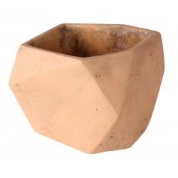 Osłonka ELOF cementowa,15x15x12,5cm,KOL.CEGLASTY
