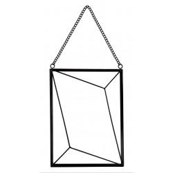 Ramka na zdjęcia SARU, 15x20cm, metal, kol.czarny