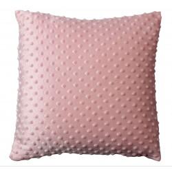 Poduszka BOBO, rozm 40x40 cm kol różowy