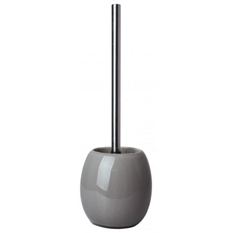 Szczotka do WC CRUSH, 13x13cm,wys.37 cm,kol.szary