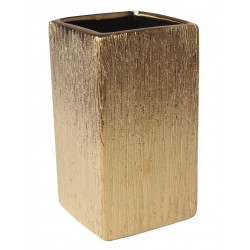 Kubek FLOSS 6,5x6,5x11,5 cm, kol. złoty
