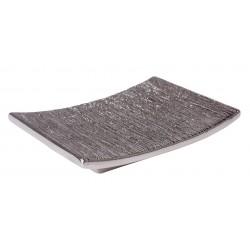Mydelniczka FLOSS, 11,5x9x2 cm, kol. srebrny