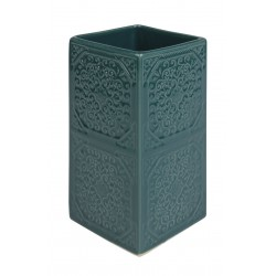 Kubek MAUR, 6,5x6,5x12,5 cm, kol. morski