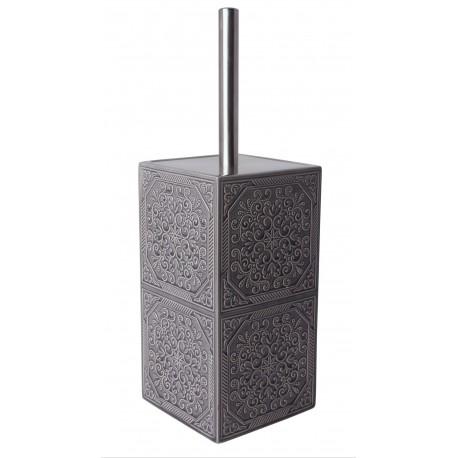 Szczotka do WC MAUR, 10,5x10,5x33 cm, kol.szary