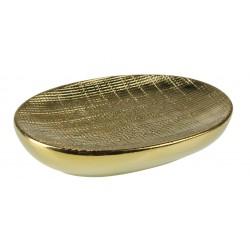 Mydelniczka MIDAS, 13,2x9,5x2,5 cm, kol. złoty