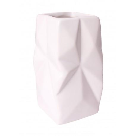 Kubek ORIGAMI, 7x7x11,5 cm, kol. kremowy