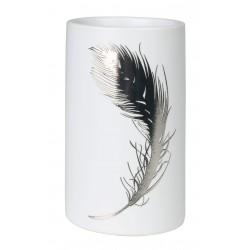 Kubek PIUME, 7x7x11,5 cm, kol. biały