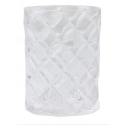 Kubek RUSH, 11x8x5,5cm, przezroczysty