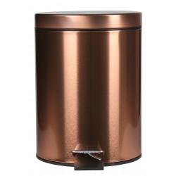Kosz na śmieci SHEEN, 5L, 20x20x28cm,kol.miedzany