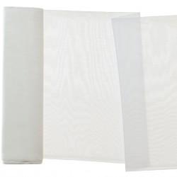 Woal barwiony gładki,szer.150cm,kol.biały