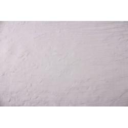 Woal barw kreszowany z oł, szer 270 cm, kol Biały