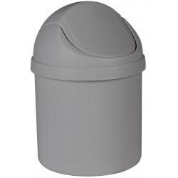 Kosz na śmieci ARTU, 1,25L 13x20cm, kol.antracyt