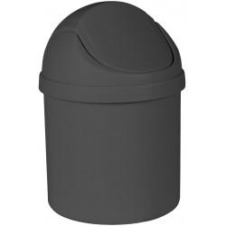 Kosz na śmieci ARTU, 1,25L 13x20cm, kol.czarny