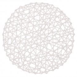 Podkładka CARTA, śr. 38 cm, kol. biały